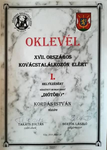 Oklevél