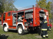 A balástyai önkéntes tűzoltók is részt vettek az M5-ös autópályán történt baleset műszaki mentésében