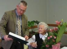 90 éves Gera Illésné