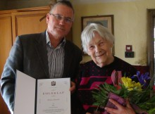 90 éves Kónya Jánosné