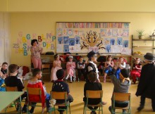 Farsangoltak az alsó tagozatosok a balástyai iskolában