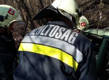 Minősítő, kárfelszámolási és tűzoltási gyakorlaton a balástyai önkéntes tűzoltók