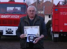 A Polgári Védelem Világnapja alkalmából Szemerédi László kitüntetést kapott