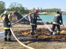 Katasztrófavédelmi gyakorlat Balástyán