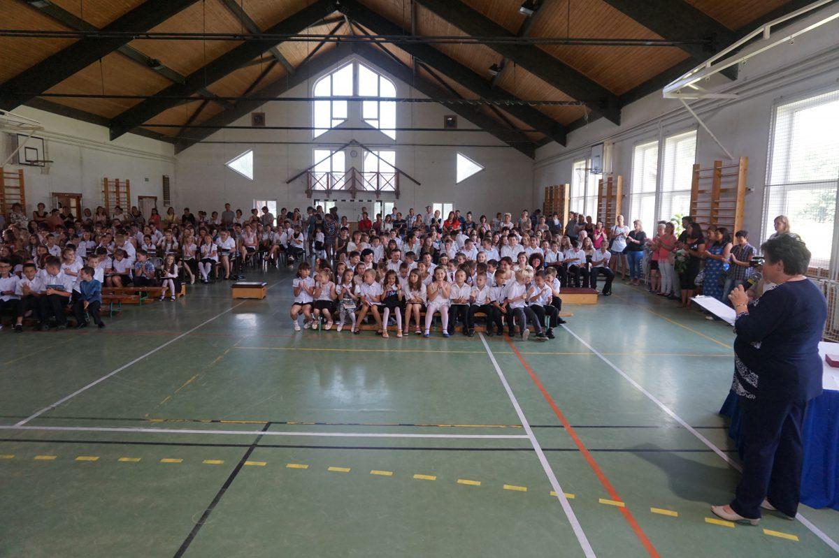 Tanévzáró a balástyai általános iskolában