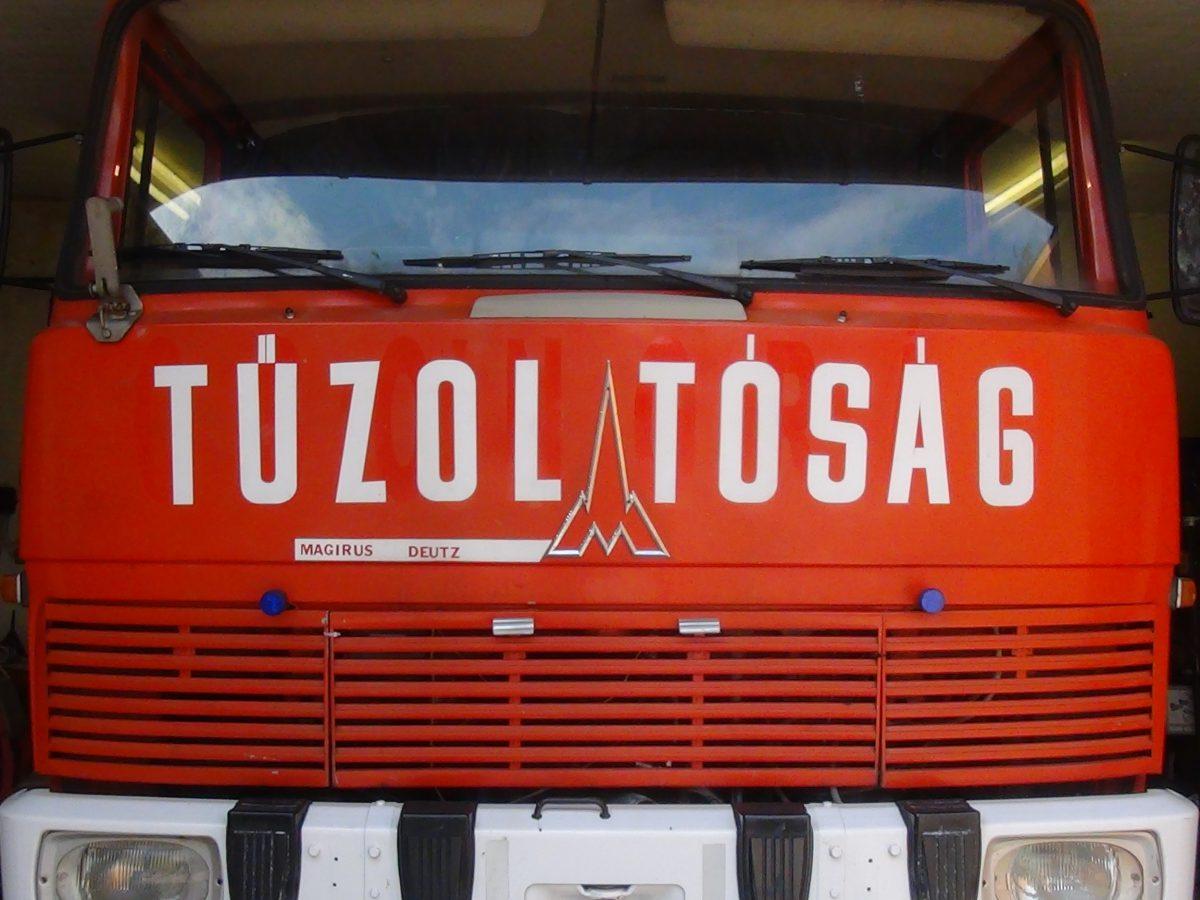 Tűzoltó hír – 57 kivonuláson a balástyai önkéntes tűzoltók