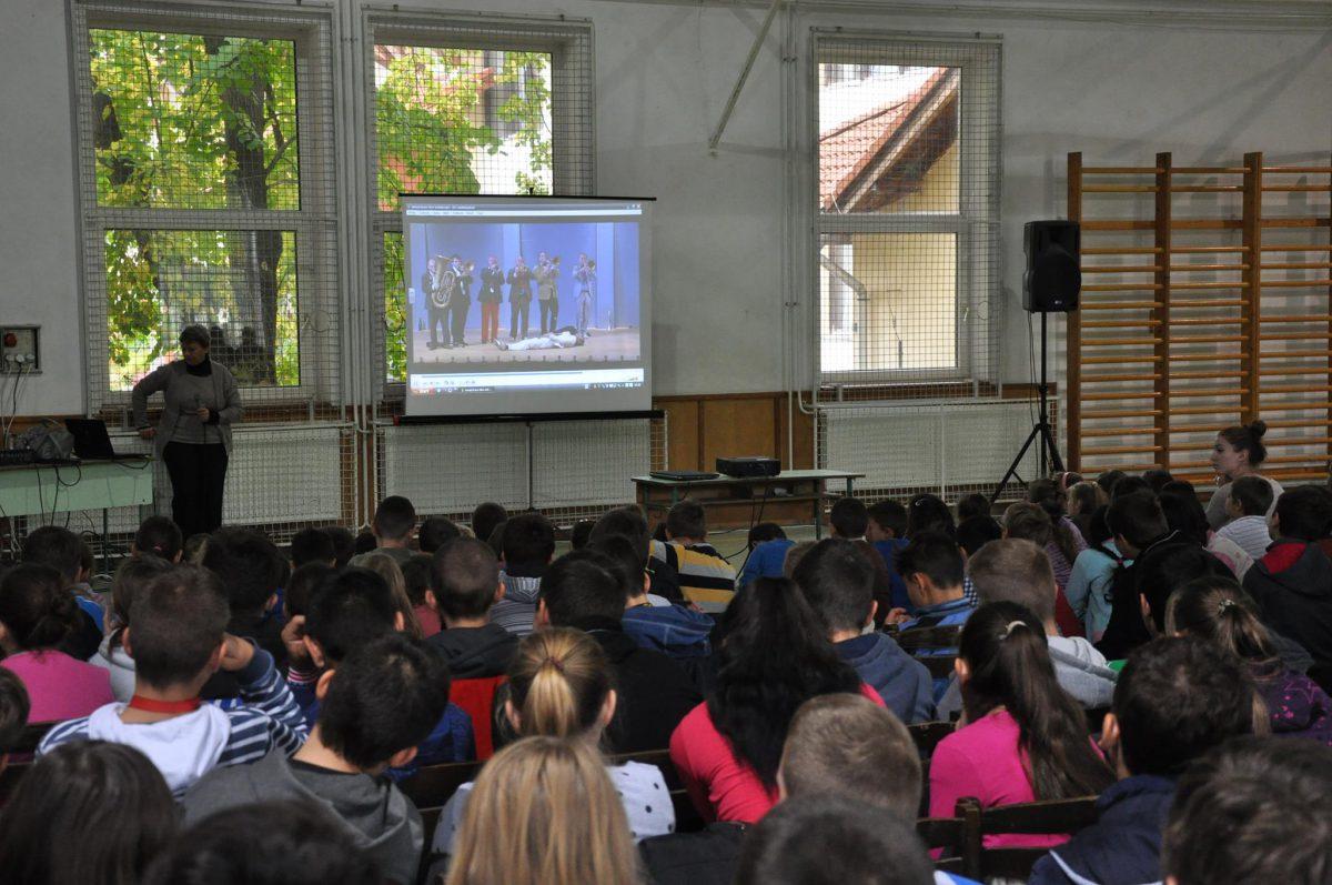 A Zene Világnapja a balástyai általános iskolában