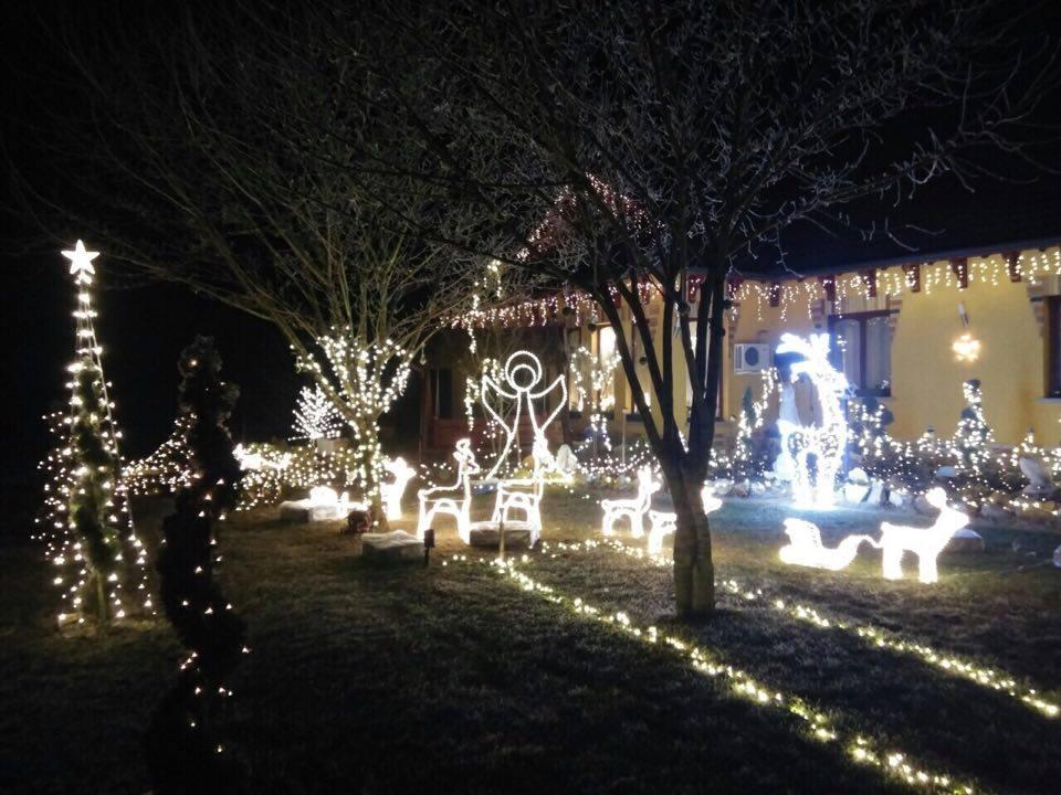 Gyönyörű karácsonyi fények Balástyán