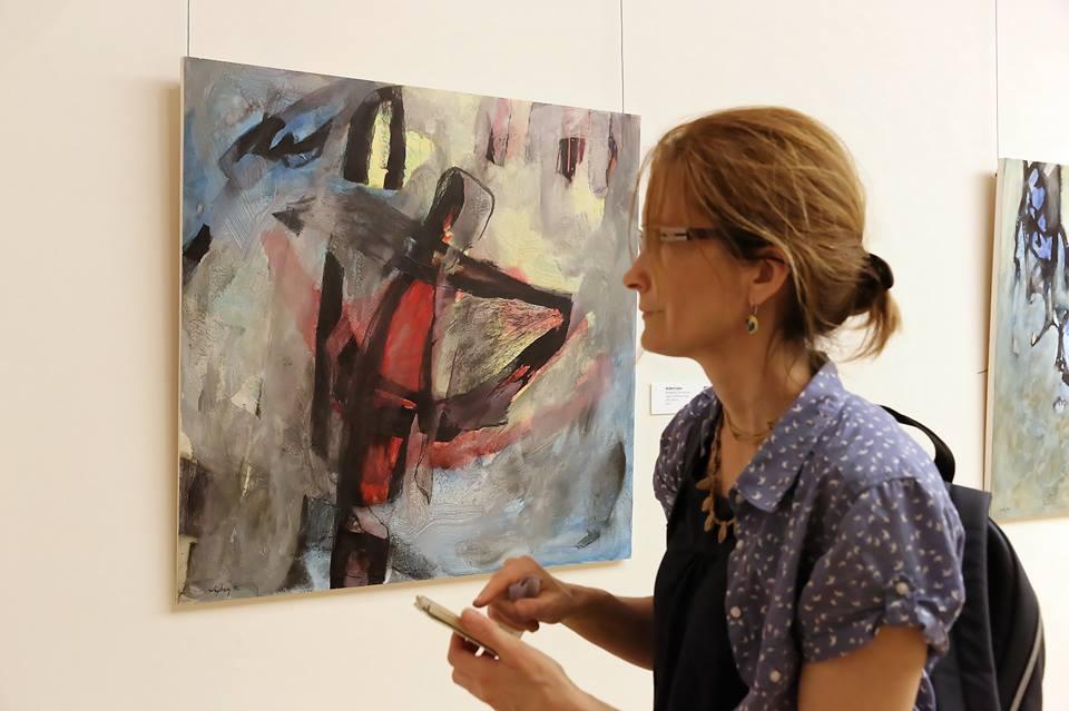 A balástyai Krasznai Barbara kiállítása Szegeden