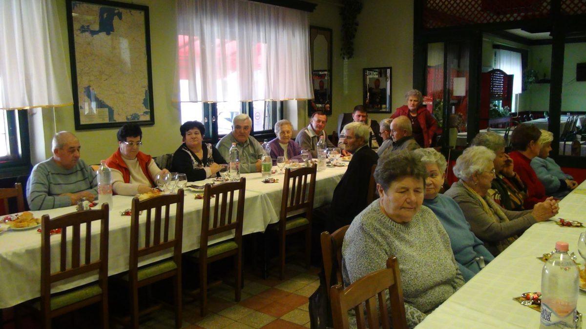 Mozgáskorlátozottak összejövetele Balástyán