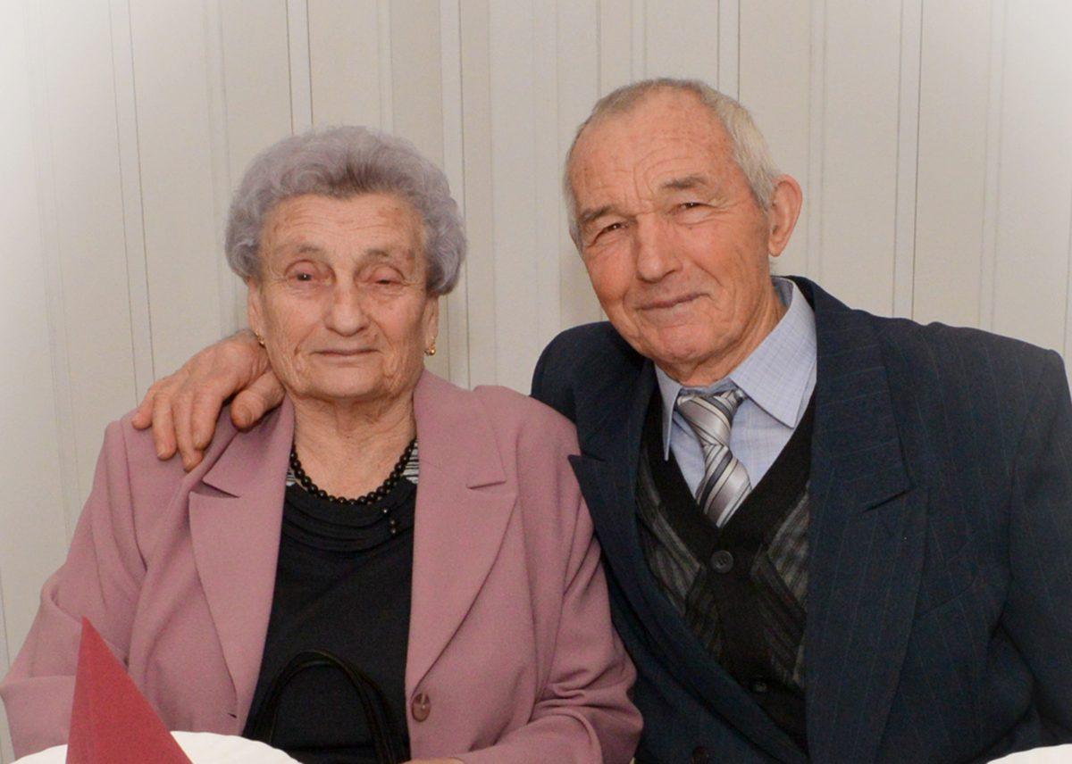 60 éves házassági évforduló