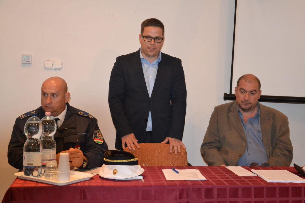 A rendőrség lakossági fórumot tartott községünkben