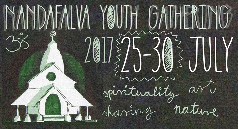 Nemzetközi ifjúsági tábor a balástyai hindu templomnál
