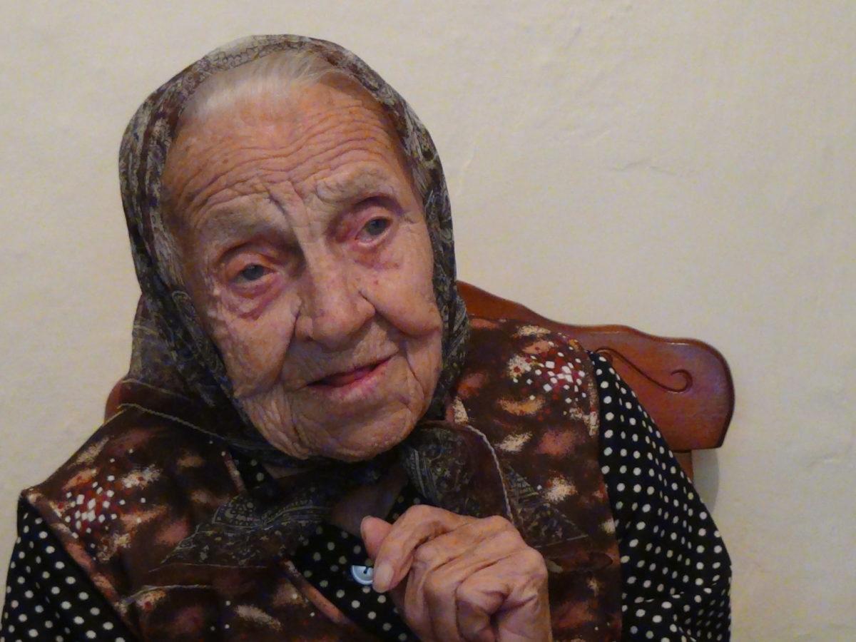 Balástya legidősebb lakója a 102 éves Magony Gáspárné
