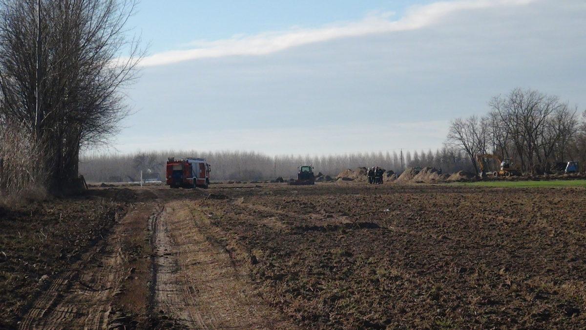 Elszakadt egy gáz fővezeték Balástyán