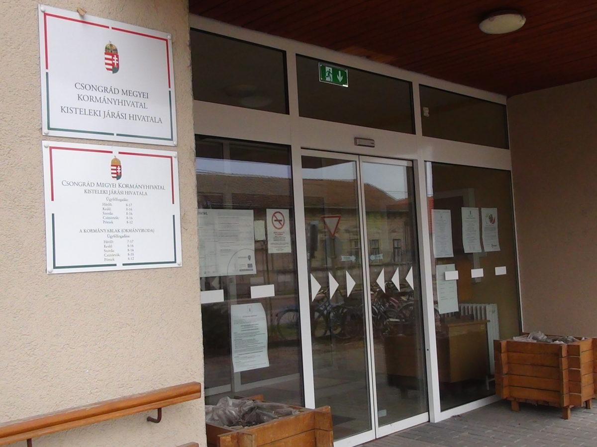 Július 30-tól változik a Kormányablak ügyfélfogadás helyszíne Kisteleken