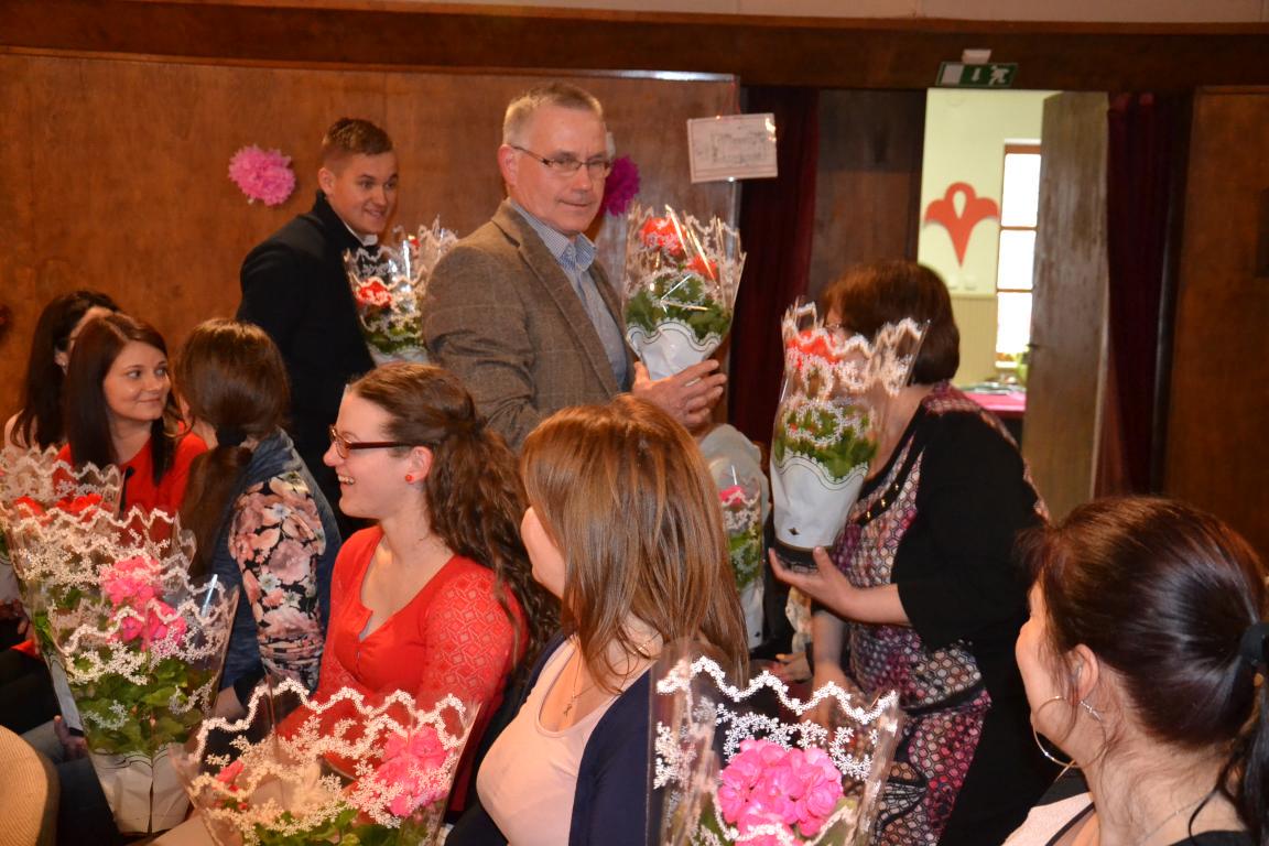 Nőnapi ünnepség a balástyai önkormányzat munkatársainak