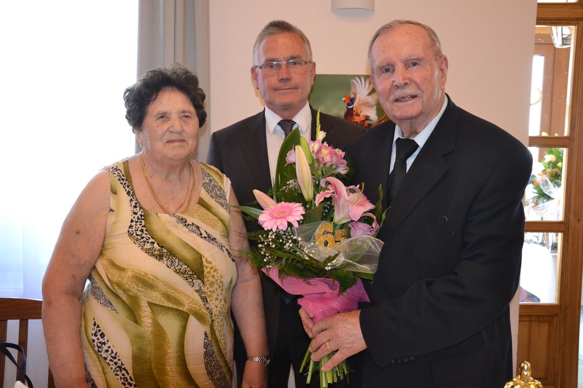 65 éves házassági évforduló
