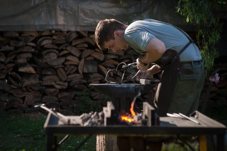 A balástyai származású Kordás István első lett a vései kovácstalálkozón