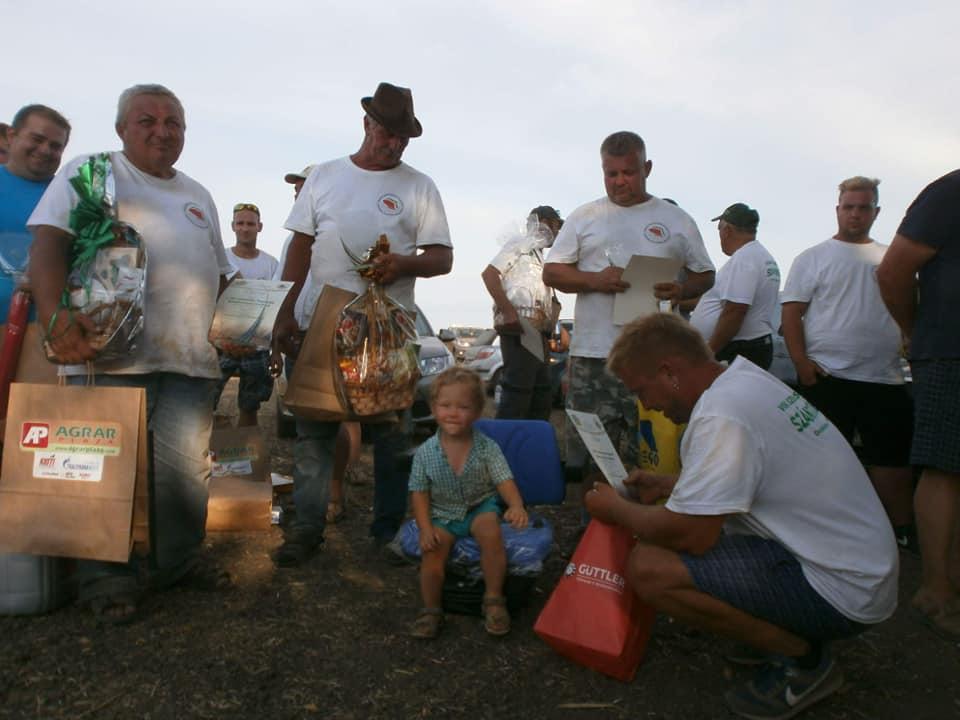 Balástyai díjazottak szántóversenyeken