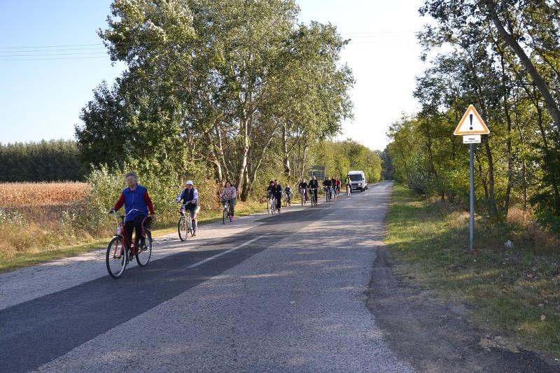 Kerékpártúra Szatymazra