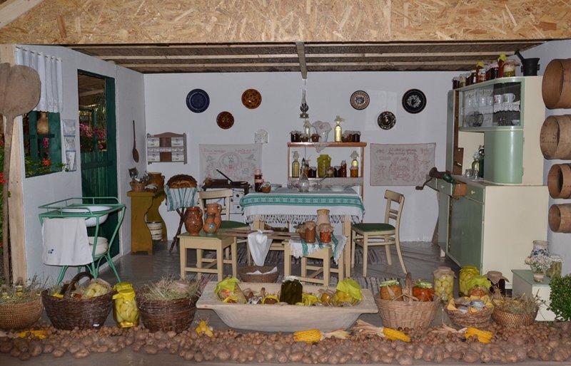 A régi tanyai élet volt az idén a falunapi kiállítás fő témája