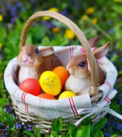 Húsvéti készülődés a sportcsarnokban