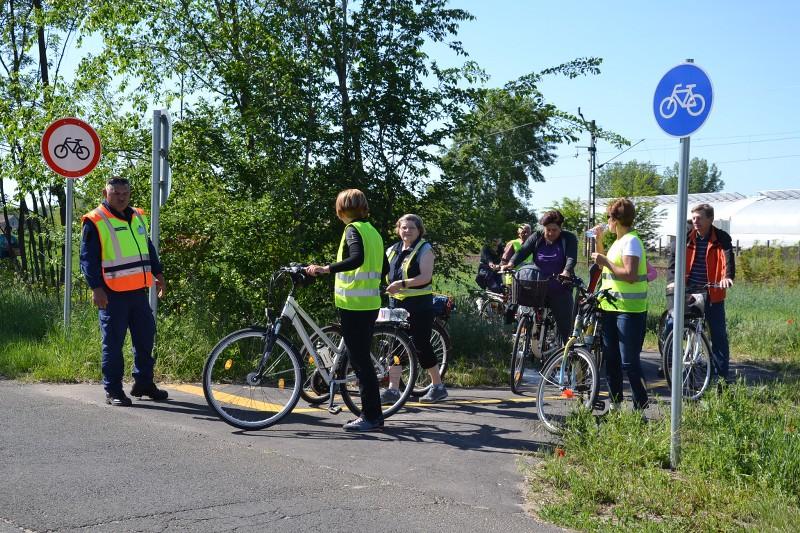 Kerékpártúra Csengelére