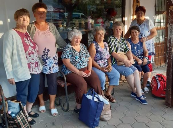 Balástyaiak a berekfürdői Országos Nyugdíjas Találkozón