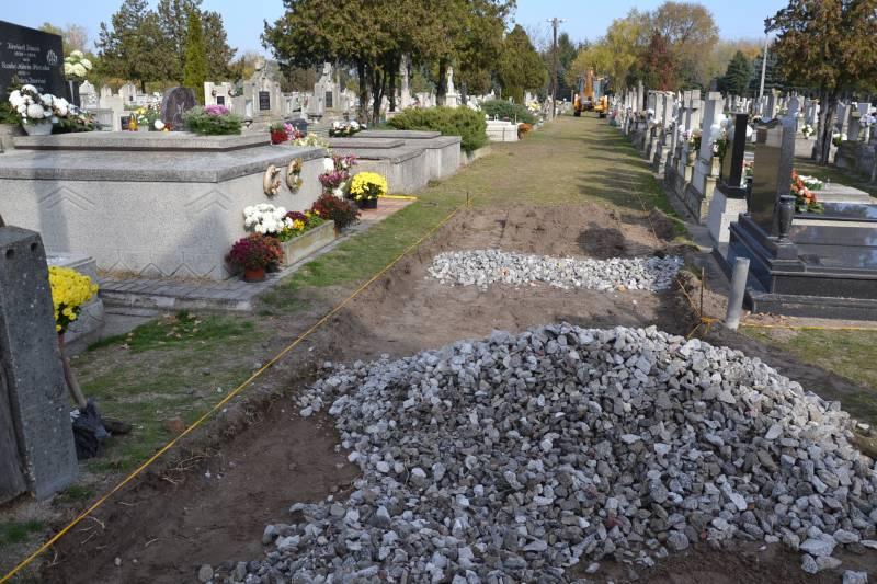 Megkezdődött a temető felújítása