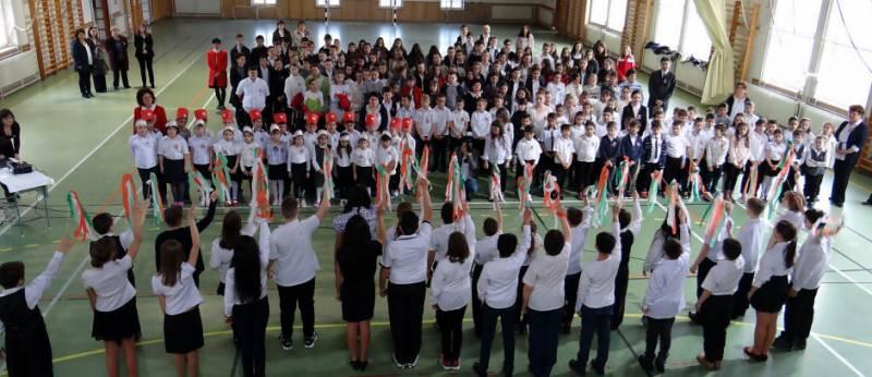 Megemlékezés 1848-ról a balástyai általános iskolában