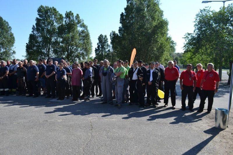 Csongrád megyei tűzoltó napon a balástyai önkéntesek