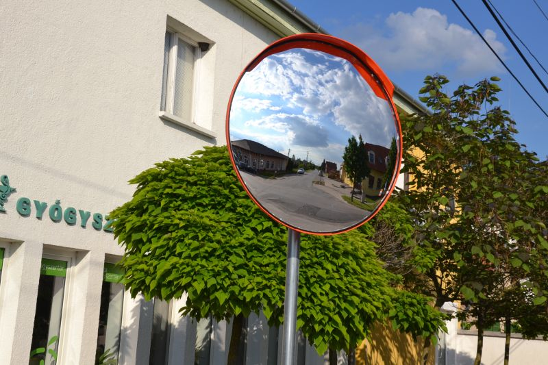 Forgalomirányító tükrök Balástyán
