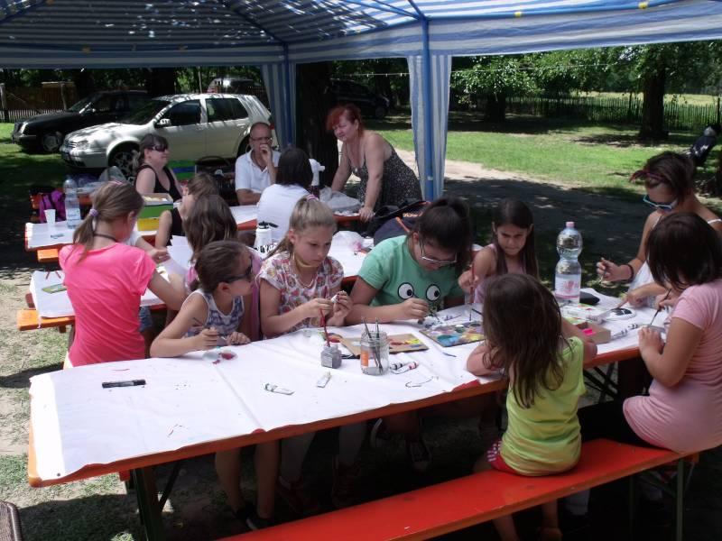 Diabeteszes gyerekcsoport az Állatsimogatóban