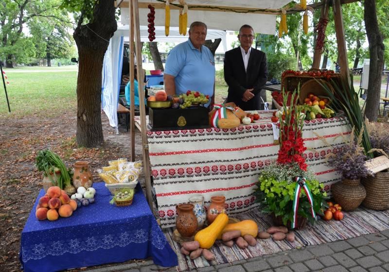 Augusztus 20-án Balástya asztala is ott volt az Ópusztaszeri Nemzeti Történeti Emlékparkban