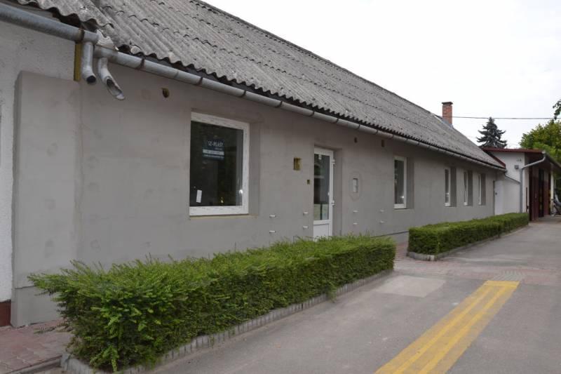 Elkészült a hőszigetelés az idősek nappali ellátását szolgáló épületen