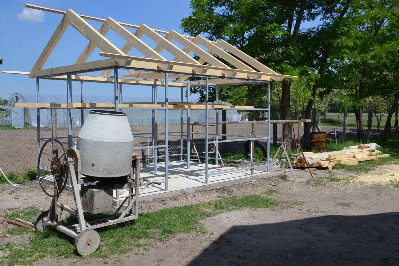 Építkezések az Állatsimogatóban